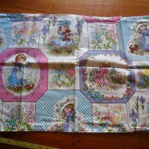 Vintage Pillowcase Retro PRINT CHOICE 1960s 1970s Fabric 50/50 Cotton Blend New