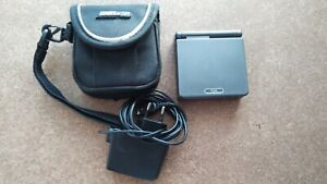 iQue Nintendo GameBoy Advance SP AGS-101 Graphite