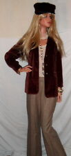 **The PERFECT sz8 Zins Brown Tweed Pants French Designer Classic WOW~WOW~WOW*