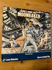 James Bond 007 Moonraker - Laserdisc Good condition
