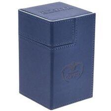 Deck Box Ultimate Guard Flip n Tray Deck Case 100+ Standard Size XENOSKIN Blue