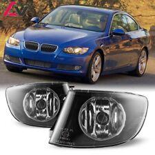 07-11 For BMW E92 E93 Clear Lens Pair Bumper Fog Light Lamp OE Replacement DOT