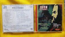 PROKOFIEV - IVAN LE TERRIBLE. MORGOUNOV. CD FORLANE