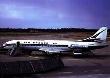 Air France , Caravelle I ,  Ansichtskarte