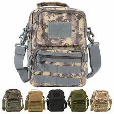Tactical Backpack Messenger Bag Military Sling Shoulder Pack Hiking Camping Men
