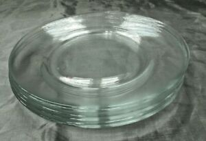 """Cristal d'Arques Durand BY THE BUNCH Set of 6-7 5/8"""" Salad Dessert Plates NEW"""