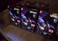 Lot of 9 RX 580 8GB NEW NEVER OPENED Sapphire Radeon NITRO+ RX 580 8GB GDDR5