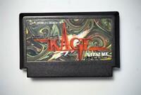 Famicom Natsume Kage Shadow of the Ninja Japan FC game US Seller