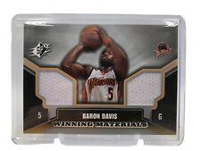 Baron Davis 2005-06 SPX Winning Materials Jersey Card Golden State Warriors SPx