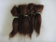 MOHAIR for rooting- REBORN Doll making supplies 20g  (0.7 oz) Medium brown