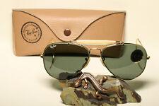 Original Vintage Ray Ban U.S.A. Bausch & Lomb Outdoorsman 58-14 Sonnenbrille