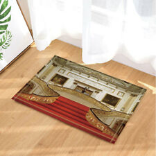 """Buckingham Palace With Red Stairs Non-slip Bathroom Rugs Door Mat Carpet 16X24"""""""