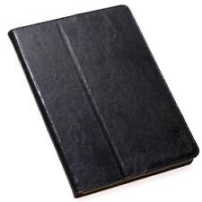 Luxus Leder Cover für Apple iPad Mini 4 Schutzhülle Tasche smart Case schwarz