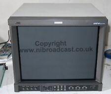 JVC 17 in (environ 43.18 cm) dt-V1710CG HDSDI Moniteur CRT avec HDSDI, SD intrants. et alim (R