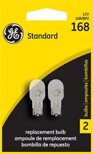 License Light Bulb Standard Lamp Twin Blister Pack License Plate Light Bulb #168