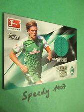 Topps Bundesliga Chrome 2016 Trikot Karte Fritz Bremen Jersey Trikotkarte