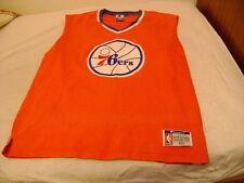 NBA Philadelphia 76ers shirt jersey Champion L official shooting shirt vintage
