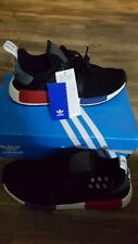 NEW ADIDAS NMD RUNNER PK CORE BLACK RED WHITE BLUE BY1909 8 US