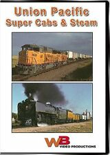 UNION PACIFIC SUPER CABS AND STEAM 3985 SD60M 8-40CW'S WB VIDEO PRODUCTIONS DVD