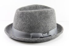 LADIES GREY HUMBURG STYLE HAT UNIQUE STATEMENT BRAND NEW (HT21)