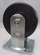 "Grainger 5 x 2"" Medium-Duty Rigid-Plate Caster (1000-Lbs rating), p/n 1ULN1"