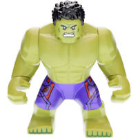 Marvel Super Heroes Incredibe Hulk  Mini Figure Avengers Infinity War Fit lego B