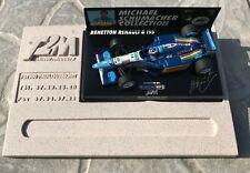 F1 1/43 Minichamps Benetton Renault B195 Schumacher GP France T2M Base #17
