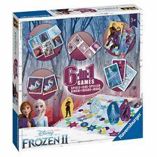 Spiele Box 6 in 1 | Disney Frozen II Eiskönigin | Ravensburger | Spielesammlung