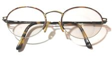 Faux Tortoise Shell Half Frame Eyeglasses Made By White Stag