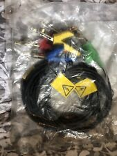JDSU HST Test Cable Set  000–465-02 Black,green,red,yellow,blue.