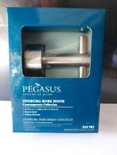 Pegasus InnBurg Bath Single Robe Hook 533 702 Brushed Nickel