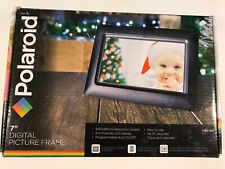 "Polaroid Digital Photo Frame 7"" Screen - Black No PC required"