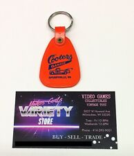 ULTRA RARE - 80s The Dukes Of Hazzard TV Promo - Keychain Ring Cooters Garage
