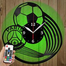LED Vinyl Clock Paris Saint-Germain LED Wall Art Decor Clock Original Gift 3344