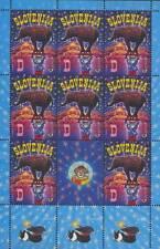 EUROPA CEPT 2002 ZIRKUS - SLOWENIEN 403 KLEINBOGEN ** - EUR 180,00 - CIRCUS