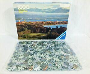Vtg Ravensburger Puzzle Otto Maier Lake Constance W. Germany Open Box Sealed Bag