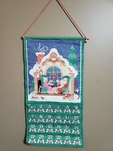 Vintage 1987 Avon Countdown to Christmas Advent Calendar With Mouse