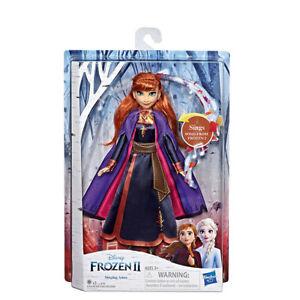 Frozen 2 - Singende Anna Puppe Leuchtet Eiskönigin