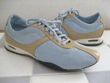 COLE HAAN Nike Air Blue Fabric/Tan Leather Air Bria Sneakers, NWT, Sz 6B