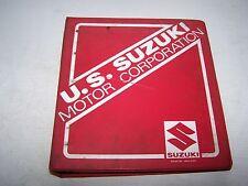 SUZUKI GS1100 G  SERVICE MANUAL AND SUPPLEMENTARY MANUEL 99500-39022-03E