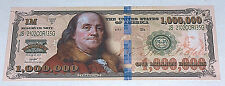 1 ONE MILLION DOLLAR BILL Living Waters Tract Ben Franklin Series 2015 God Trust