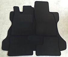 Fußmatten Kofferraumtepich Set für Opel Astra F Caravan schwarz 5tlg Velours Neu