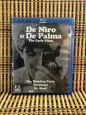 De Niro & De Palma: The Early Films (2-Disc Blu-ray, 2018)Arrow Video.