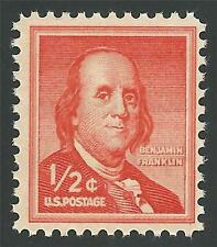 CLASSIC Benjamin Franklin 1/2 One Half Cent United States Postage Stamp MINT NH!