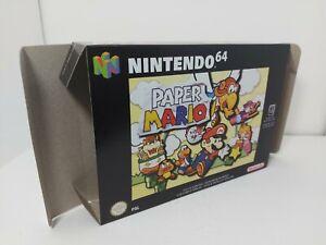 Paper Mario - PAL  - Nintendo 64 - N64 - Only Box