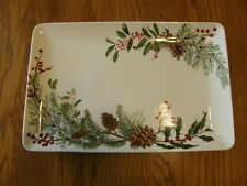 Williams Sonoma Woodland Berry Rectangular Serving Platter-Christmas-UpNorth-New