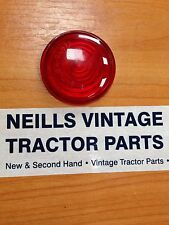 David Brown Tractor Butlers Side Light Lens RED 1