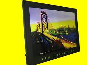 LED Wandbild Bild mit Blinkeffekt  / SAN FRANCISKO