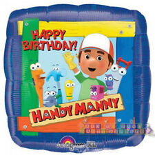 HANDY MANNY Happy Birthday FOIL MYLAR BALLOON ~ Party Supplies Decoration Helium