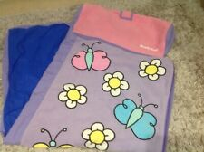 Butterfly/flowers Ready Bed Cover (Sleeping Bag) No Air Bed